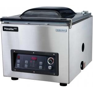 Машина для вакуумной упаковки, настольная, 1 камера 428х511х190мм, электронное управление, 1 шов 406мм, насос 20м3/ч, 10 программ, инертный газ
