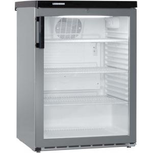 Шкаф холодильный д/напитков (минибар), 180л, 1 дверь стелко, 3 полки, ножки, +1/+15С, дин.охл., серебристый