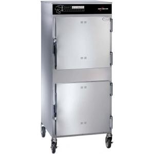 Печь-коптильня, 2 камеры, 2х9GN1/1, эл.упр., глух.двери, колеса, 2х192л, 2 термощупа