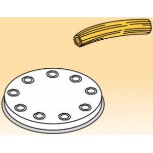 Матрица латунно-бронзовая для аппарата для макаронных изделий MPF 2.5N и MPF 4N (D57мм), bucatini (спагетти толстые с отверстием), 4мм