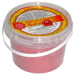 Смесь пищевая для приготовления карамельной глазури для яблок, «Малина», 425г., пластиковое ведро