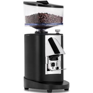 Кофемолка-полуавтомат/автомат, бункер 0.5кг, 0.5кг/день, чёрная
