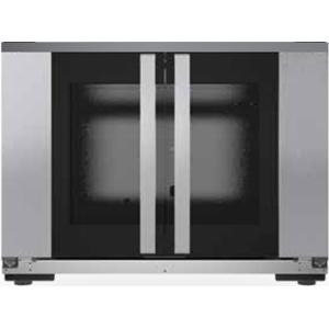 Шкаф расстоечный для печей BakerLux Shop.Pro,  8х(600х400мм), 2 двери распашные стекло, корпус нерж.сталь, 220V, упр. от печи