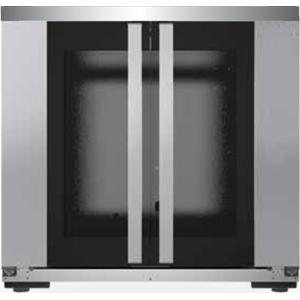 Шкаф расстоечный для печей BakerLux Shop.Pro, 10х(600х400мм), 2 двери распашные стекло, корпус нерж.сталь, 220V, упр. от печи