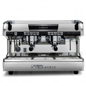 Кофемашина-автомат, 2 группы (выс.), бойлер 14л, белый жемчуг, 220V, LED