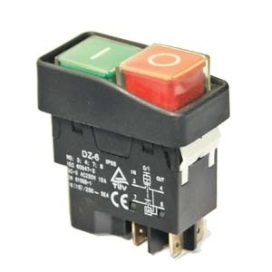 Выключатель  ON-OFF эл.магнит 5 контактов 230V