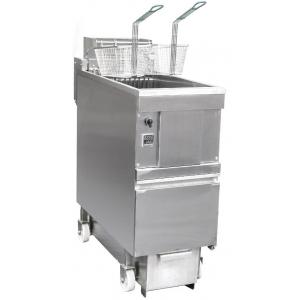 Фритюрница электрическая, 1 ванна 25л, система фильтрации масла