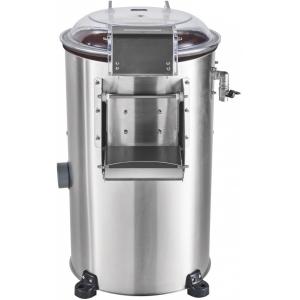 Картофелечистка электрическая, напольная, загрузка 10кг, 150кг/ч, корпус нерж.сталь, 380V, верхняя панель управления