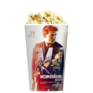 V 46 Стакан для попкорна «Миссия невыполнима: Последствия»