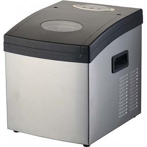 Льдогенератор для кускового льда,  15кг/сут, бункер 1.0кг, возд.охлаждение, корпус нерж.сталь, форма «кубик», настольный, заливной