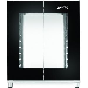 Шкаф расстоечный для печей ALFA420H-MFH-425H-625H,  8x(600х400мм) или 8GN1/1, 2 двери стекло, +40/+45С, нерж.сталь, 220V, ножки, электромех.упр., увл.