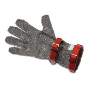 Перчатка кольчужная М (размер 8 - М красный), манжета 8см