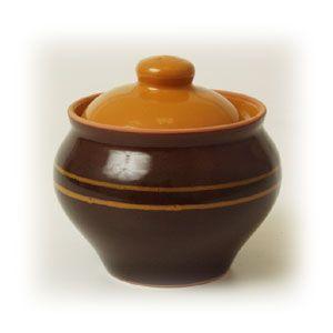 Горшок для запекания 500мл, керамика