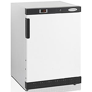 Шкаф морозильный,  200л, 1 дверь глухая, 2 полки, ножки, -10/-24С, стат.охл., белый, R600a