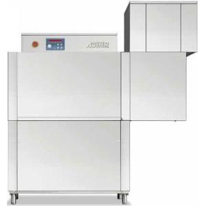 Машина посудомоечная конвейерная, 500х500мм,  70-100кор/ч, реверсивная, левая, гор.вода, доз.опол.+моющ., сушка 4.5кВт