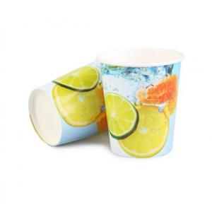Стакан бумажный для холодных напитков Лимонад 250мл