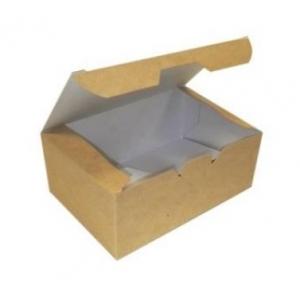 Коробка для наггетсов, крылышек, картофеля фри 350мл бумага крафт