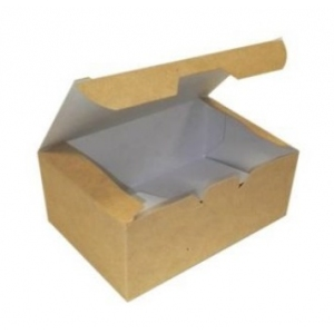 Коробка для наггетсов, крылышек, картофеля фри 900мл бумага крафт
