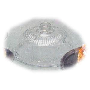 Блюдо для торта D 32см + крышка (баранчик), стекло