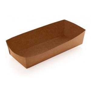 Лоток 165х70х40мм бумага крафт двухсторонний