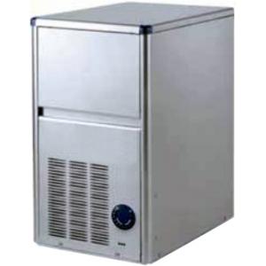 Льдогенератор для кускового льда,  18кг/сут, бункер 4.0кг, возд.охлаждение, корпус нерж.сталь, форма «пальчик» 29х35х36мм