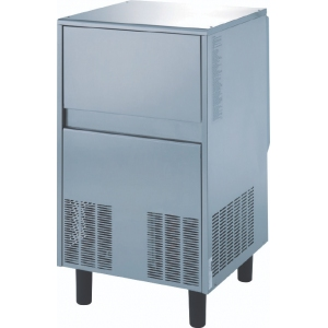 Льдогенератор для чешуйчатого льда,  73кг/сут, бункер 25.0кг, вод.охлаждение, корпус нерж.сталь