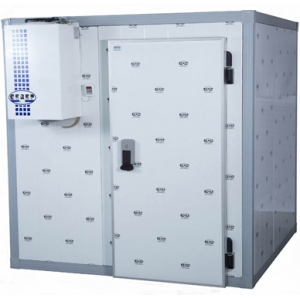 Камера холодильная замковая,   3.84м3, h2.08м, 1 дверь расп.правая, ППУ80мм, без пола, без порога
