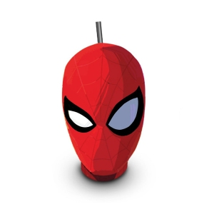 Стакан пласт. д/напитков фигурный, коллекционный «Человек-паук: Через вселенные», 0.94л.