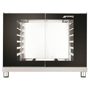 Шкаф расстоечный для печей ALFA1035H, 12x(600х400мм) или 12GN1/1, 2 двери стекло, +40/+45С, нерж.сталь, 220V, ножки, электромех.упр., увлаж.