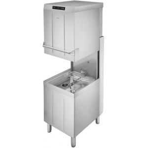 Машина посудомоечная купольная, 500х500мм, 60-30-20кор/ч, доз.опол.+моющ., 3 цикла, электр.упр., насос ополаскивания, водоумягчитель, пароконденсатор