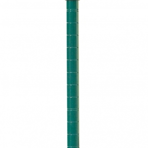 Стойка для стеллажа стационарного, H1.59м, сталь с покрытием Metroseal3-Microban, для влажных помещений (б/у (бывший в употреблении))