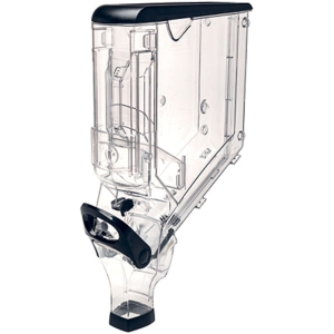 Контейнер гравитационный для сыпучих продуктов,  7,5л, пластик прозрачный