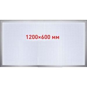 Лайтбокс тонкий 1.2х0.6м, рама алюминиевая (Уценённое)