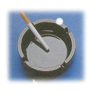 Пепельница D 10,7см черная