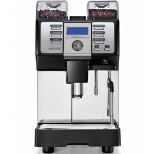 Кофемашина-суперавтомат, 1 группа, 2 кофемолки, черная, рус.яз., под.к водопр.