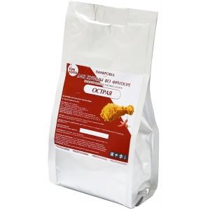 Концентрат панировки для курицы во фритюре «Острый» (для 5.75кг. готовой смеси), пакет 375г.
