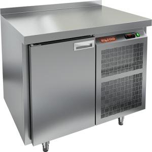 Стол морозильный, GN2/3, L0.90м, борт H50мм, 1 дверь глухая, ножки, -10/-18С, нерж.сталь, дин.охл., агрегат справа