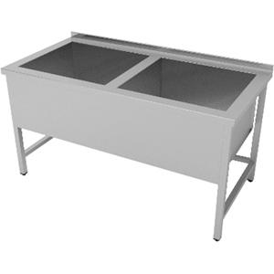 Ванна котломоечная ENIGMA RUS Е-К2-127/45/S/304