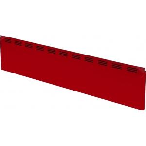 Щиток фронтальный для витрин холодильных напольных Илеть, Нова, Таир, L1.50м, красный
