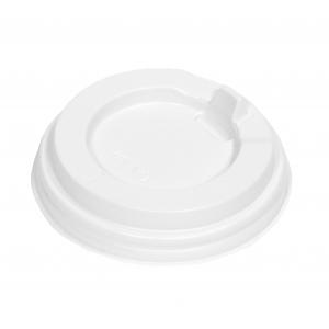 Крышка для стакана 200мл D 80мм пластик белый с носиком