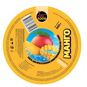 Смесь для приготовления десерта СЛАШ, манго, 980г.