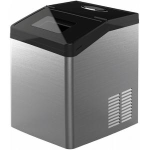 Льдогенератор для кускового льда,  35кг/сут, бункер 3.0кг, возд.охлаждение, корпус нерж.сталь, форма «кубик»