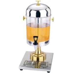 Диспенсер для сока, 1 ванна  8л, трубка для льда, нерж.сталь