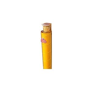 Диспенсер для  9 пластиковых стаканов готового попкорна Gourmet, настенный металлический, подача сверху, жёлтый