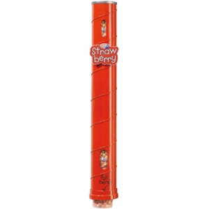 Диспенсер для 11 пластиковых стаканов готового попкорна Gourmet, настенный металлический, подача снизу, красный