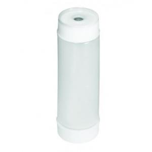 Бутылка для соуса 350мл D 5,3см с двумя крышками, пластик полупрозрачный