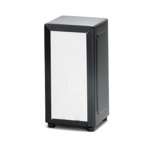 Диспенсер для салфеток L 10,16 см w 7,62 см h 17,78 см, пластик черный