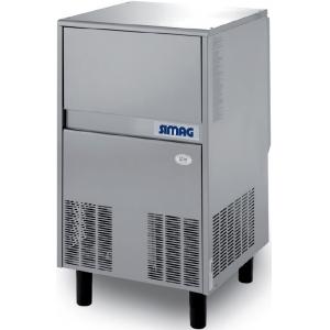 Льдогенератор для гранулированного льда,   70кг/сут, бункер 25.0кг, возд.охлаждение, корпус нерж.сталь