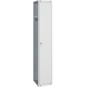 Секция дополнительная для шкафа ШР-11,  300х500х1850мм, без бок.стенки, 1 дверь распашная, 1 полка, 1 перекладина, 2 крючка, 1 замок, краш.металл