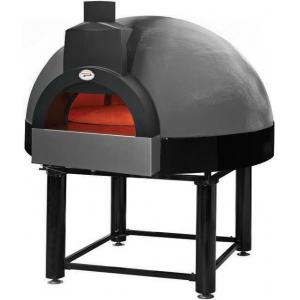 Печь дровяная, 1 камера, под 0.95м2 камень сплошной вращающ., купол неокрашенный, дверь сталь, подставка, деревянная упаковка, в сборе
